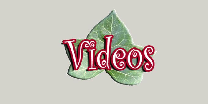 Vídeos sobre nutrição.